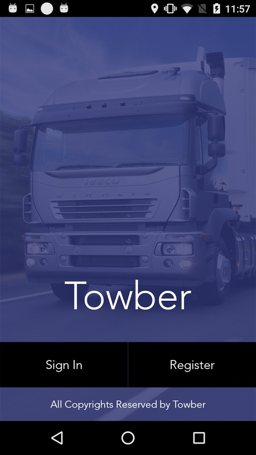Towber on demand Uber for Tow Truck