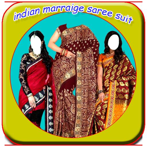 Women Indian Marraige Saree