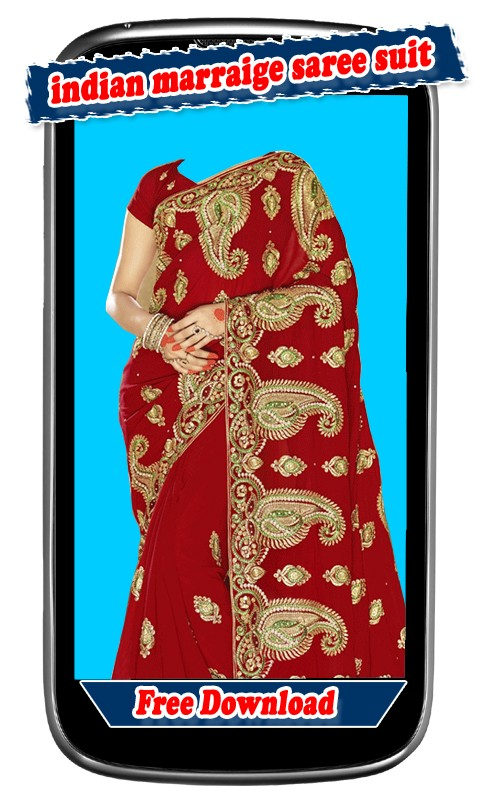 Women Indian Marraige Saree