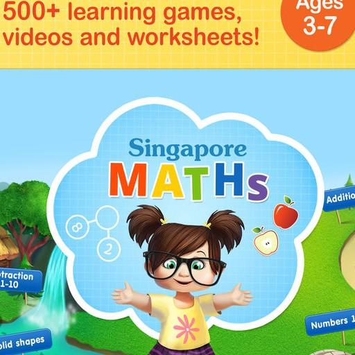 #1 Math Games: Singapore Maths App