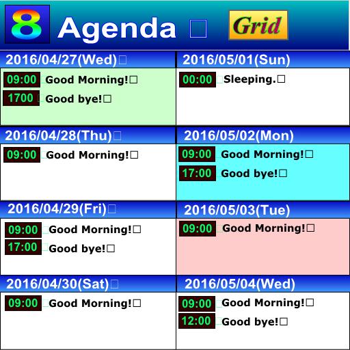 Agenda 8