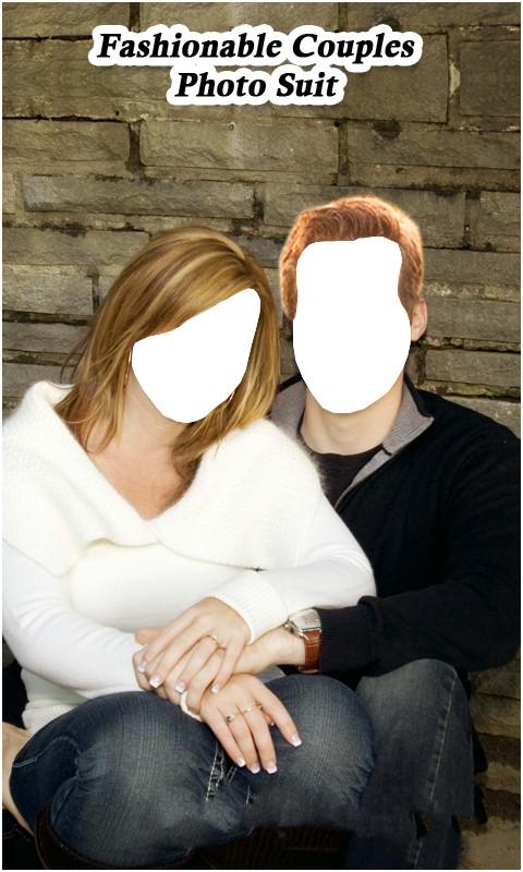 Fashionable Couples Photo Suit