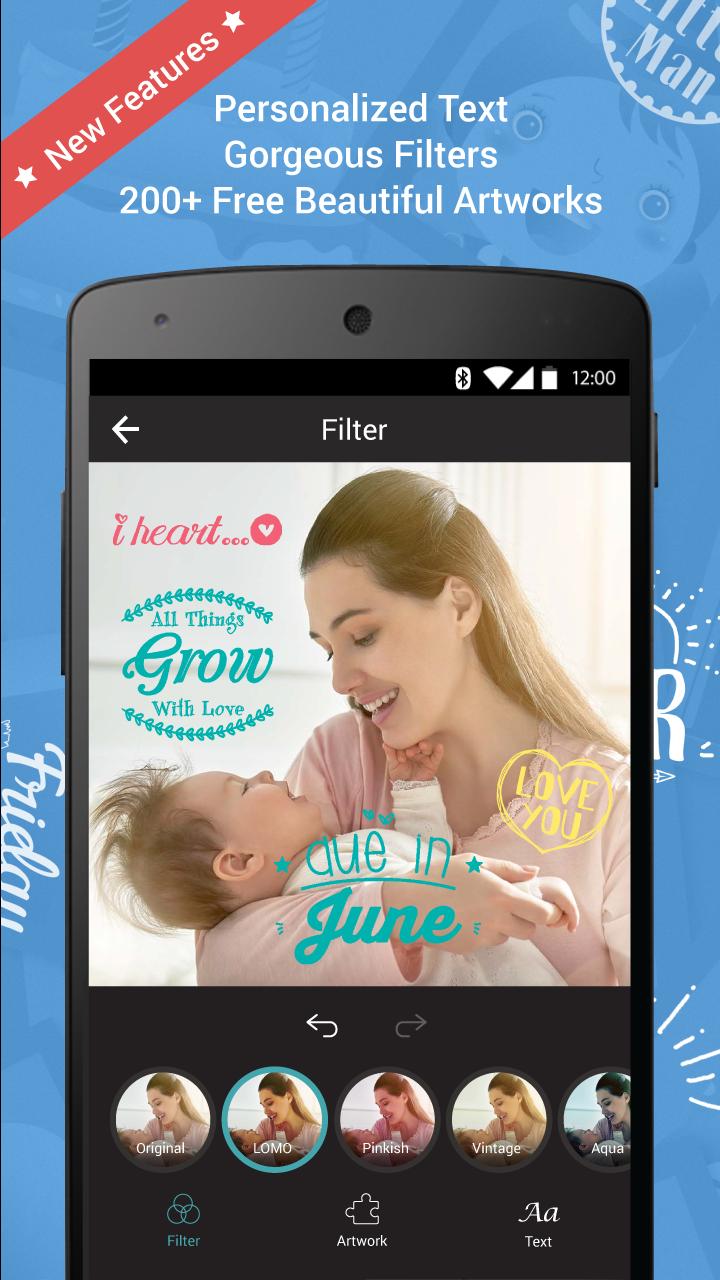 First Smile – Baby Book Photos