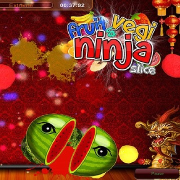 Fruit And Veg Ninja Slicer 2016