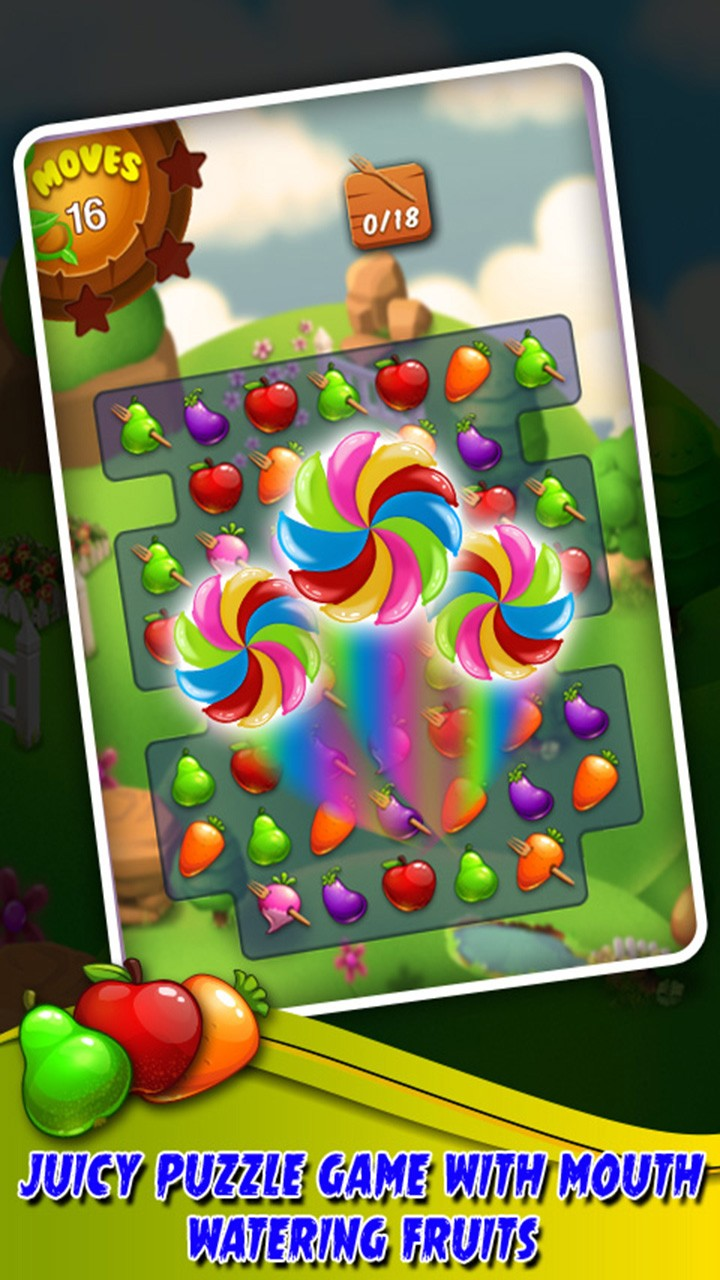 Fruit Splash: Farm Legend