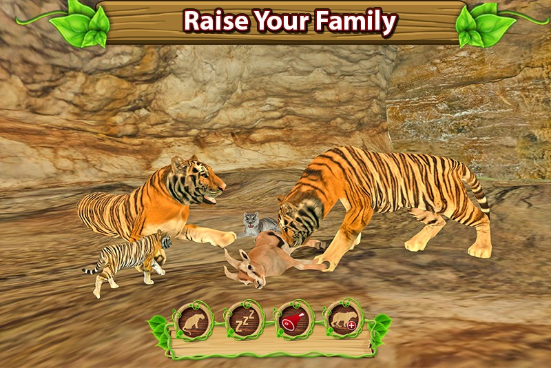 Furious Tiger Simulator ♛