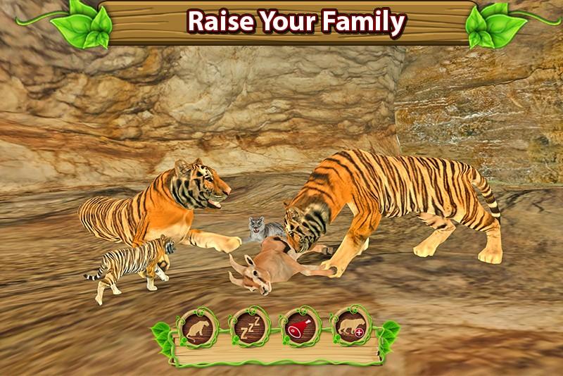 Furious Tiger Simulator ♛