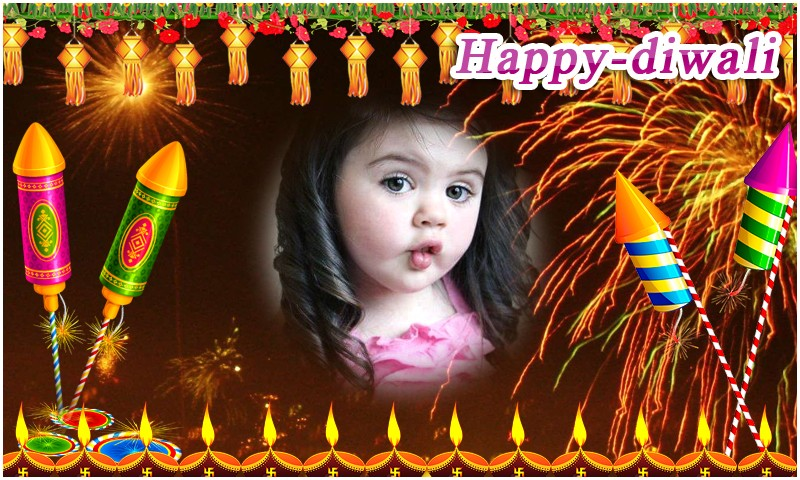 Happy Deepavali Photo Frames