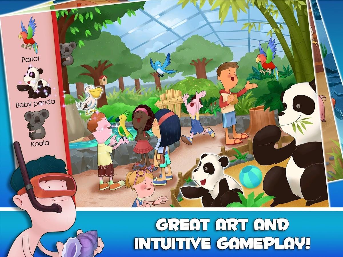 Look & Find: Fun Activities!