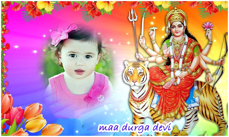 Maa Durga Devi HD Photo Frames