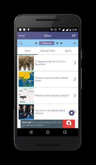 Meev - news that travels