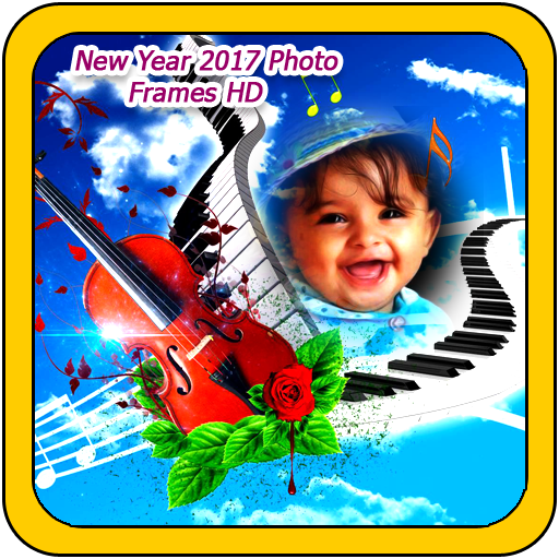 New Year 2017 Photo Frames HD