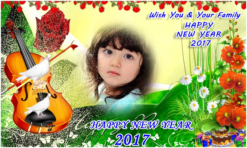 New Year 2017 Photo Frames HD