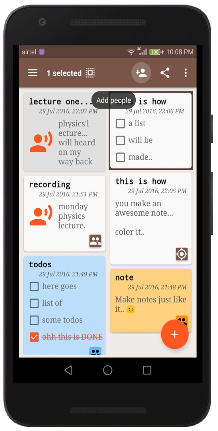 NoteKeeper - notes lists audio