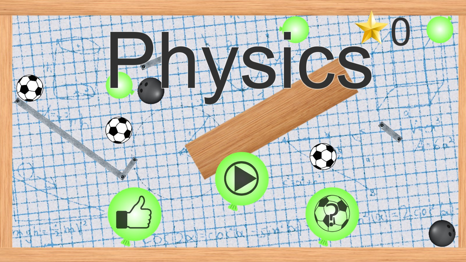 Physics Puzzle Game