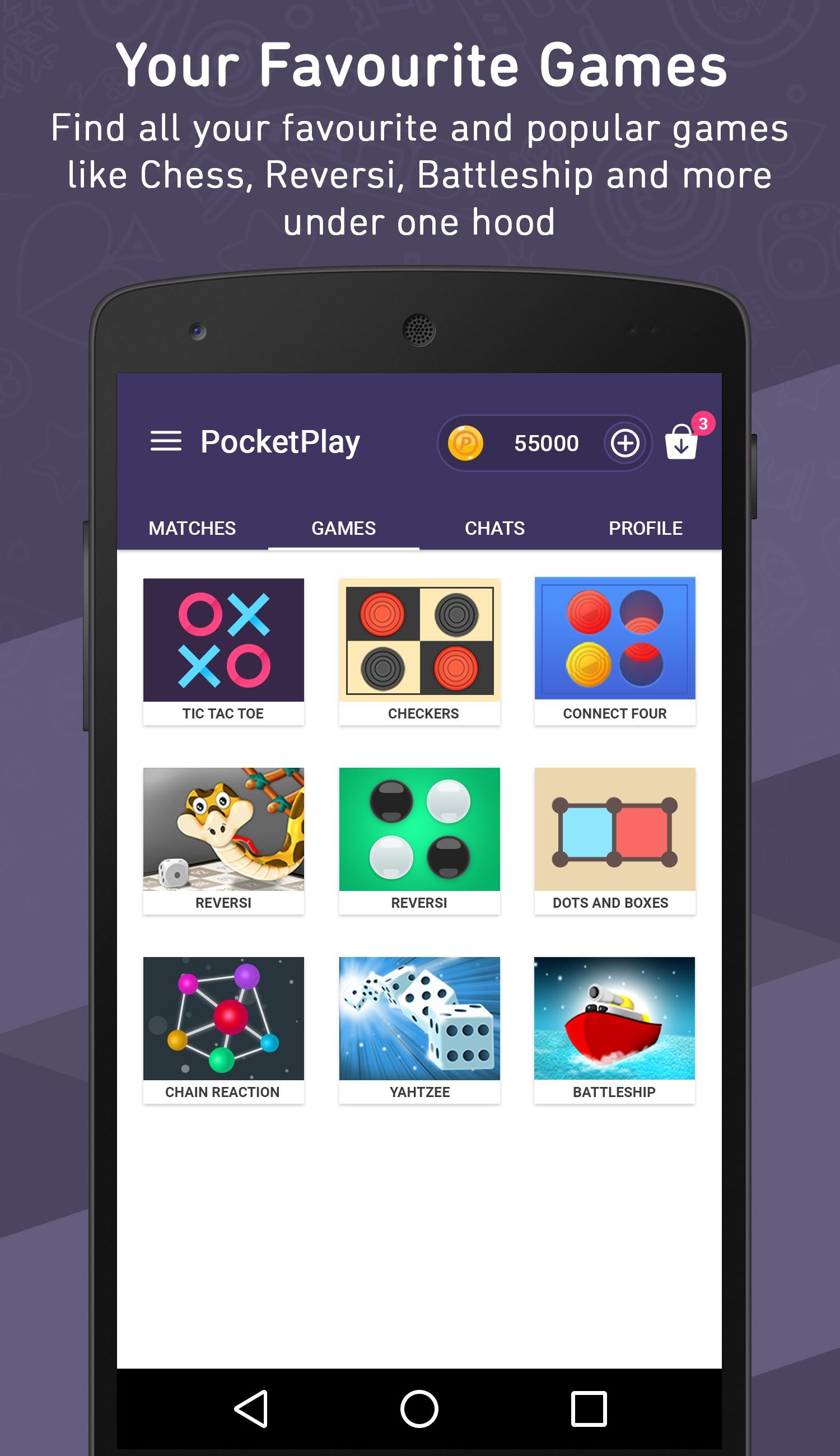 PocketPlay - Play with Buddies
