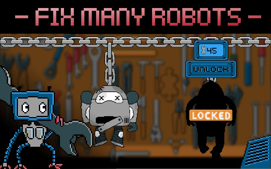 RoBits: A Shocking Puzzler