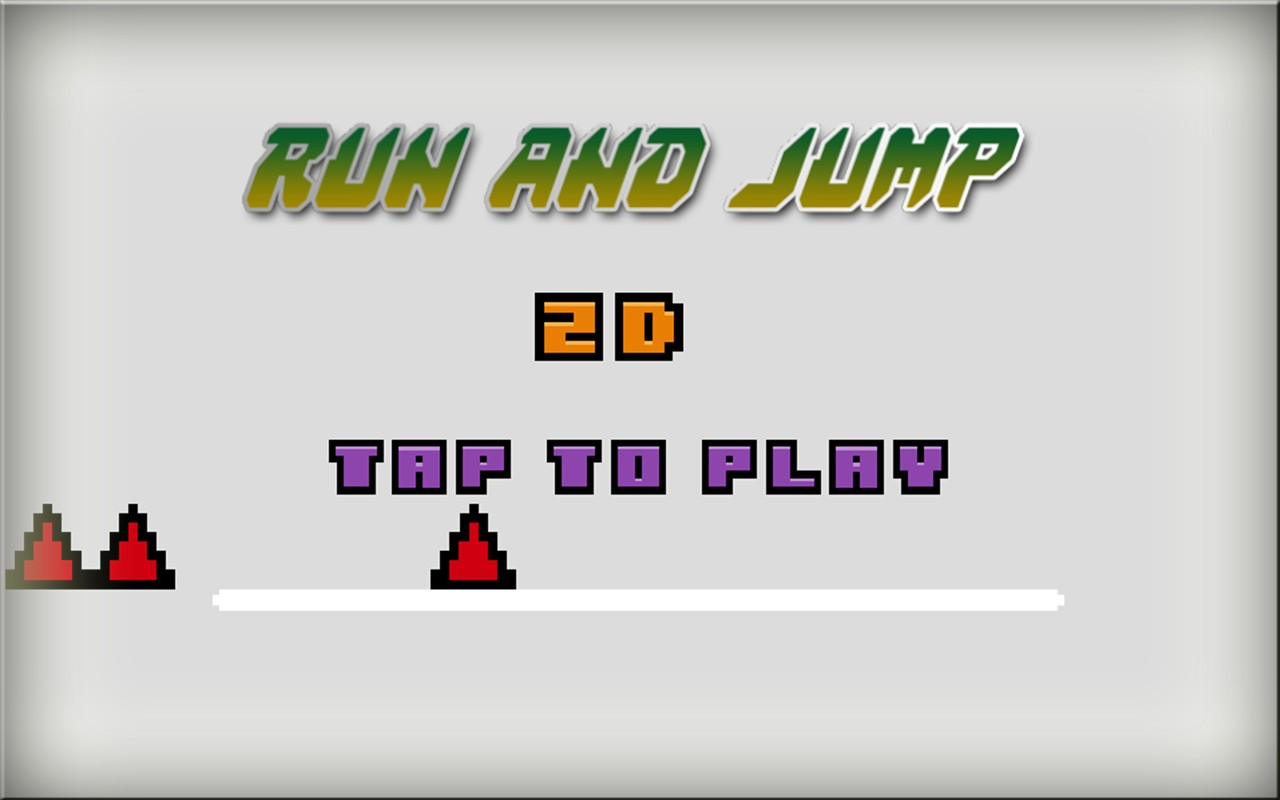 Run and Jump 2D