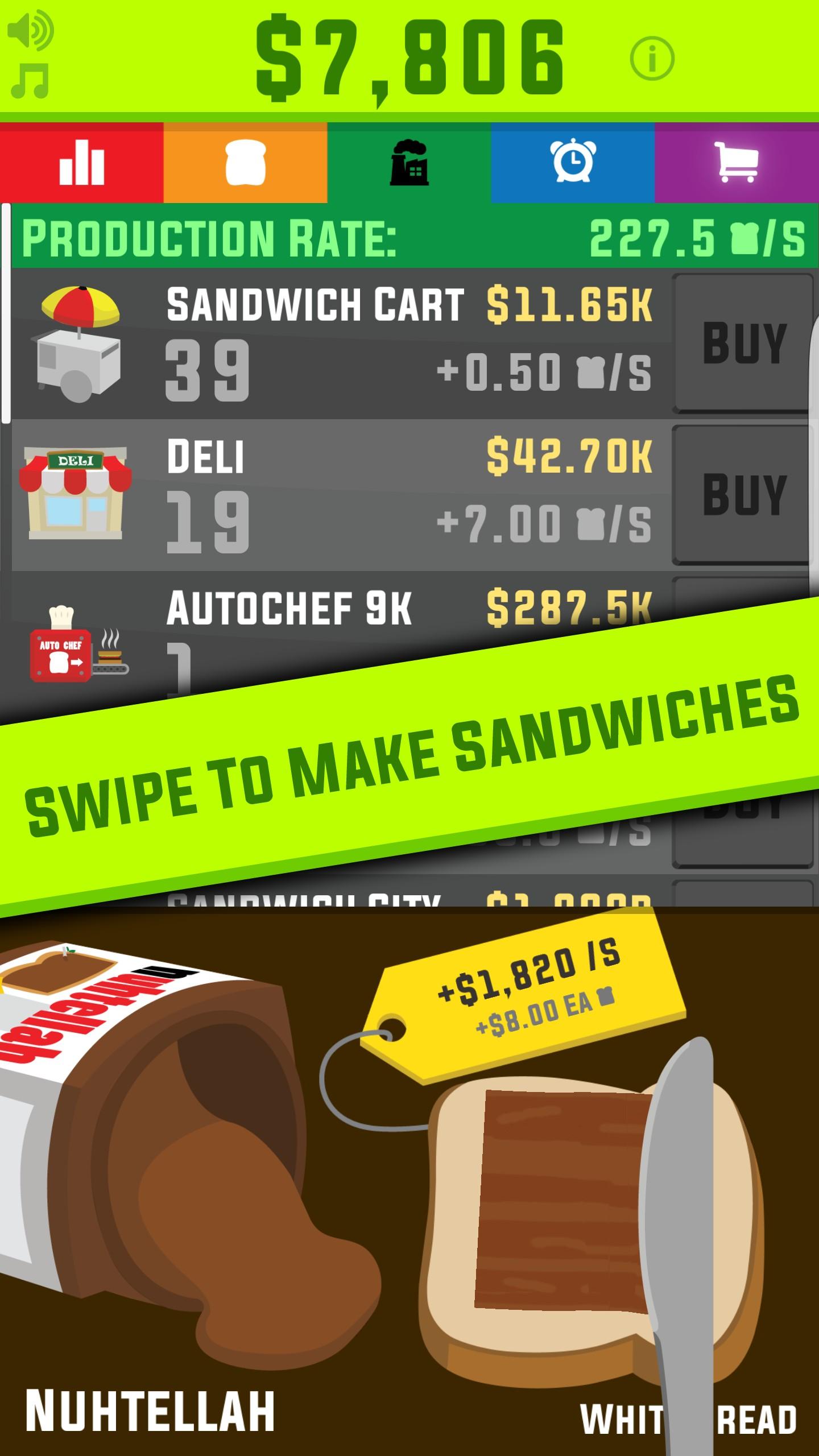 Sandwich OR ELSE