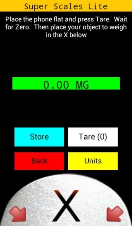 электронные весы для андроид