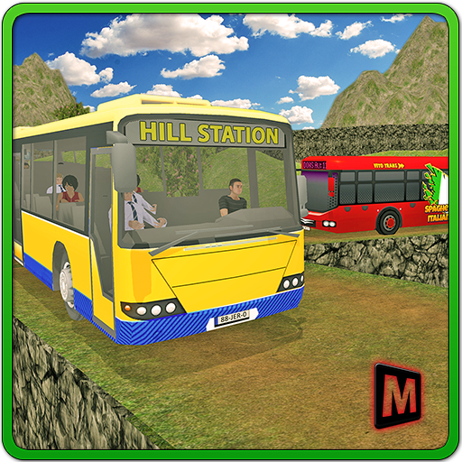 Uphill Off Road Coach Driver