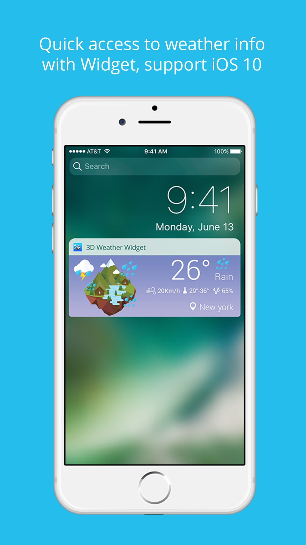 Weather Widget - Beautiful styles for Today Extension
