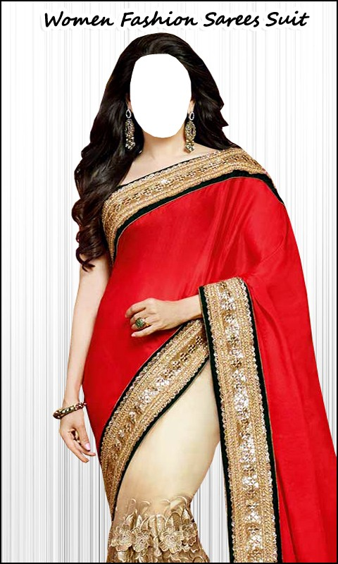 Women Fashion Sarees Suit Free
