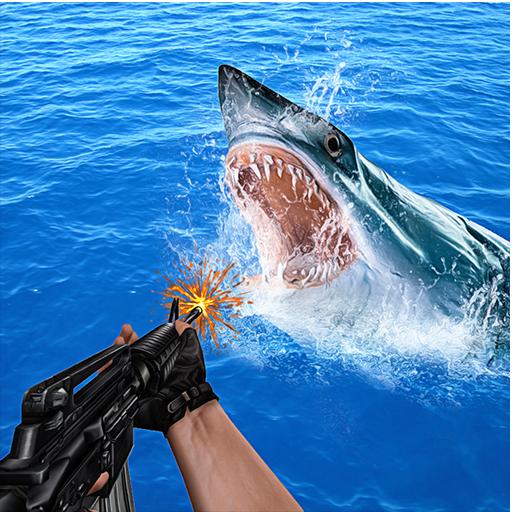 Angry Shark Hunting 2016