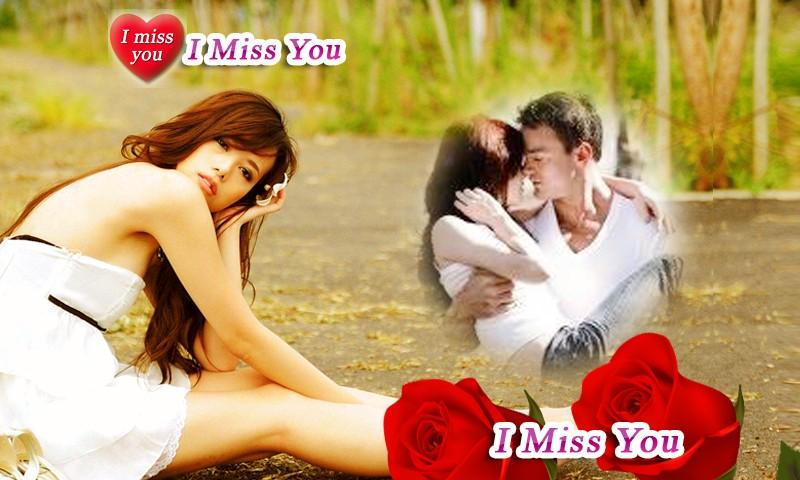 Beautiful Miss You PhotoFrames