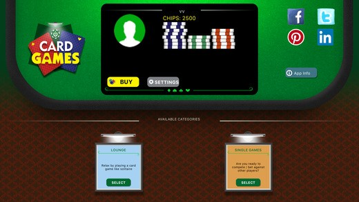 Card Games: Play BlackJack, Twentyone, Solitaire and many more games