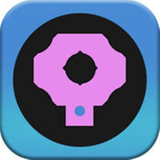 Circle Dragger - Beware Black Dots And Obstacles