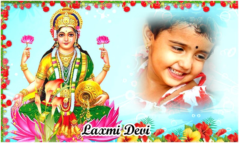 God Lakshmi Devi Photo Frames