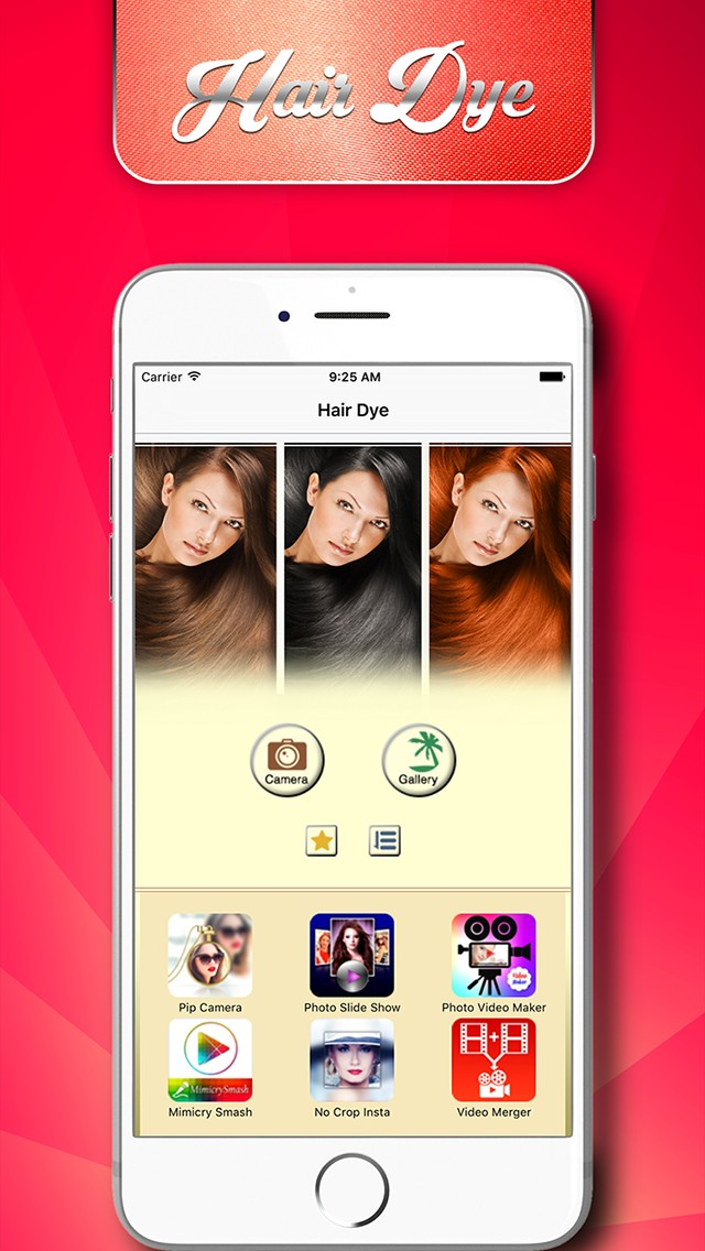 Hair Dyes - Magic Salon | iOS
