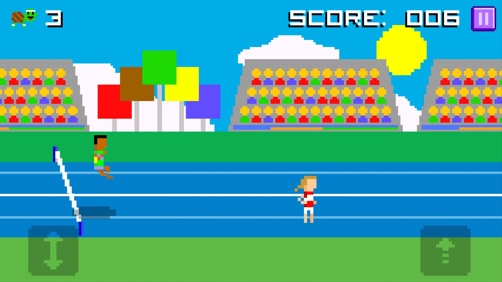 Hurdle Turtle Forever