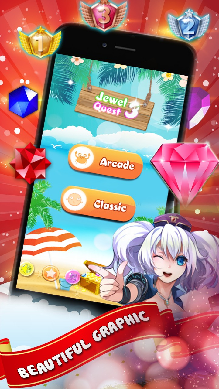 Jewel Quest HD - Match 3