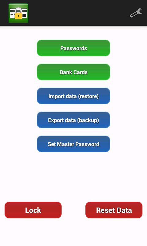 My Safe - password manager