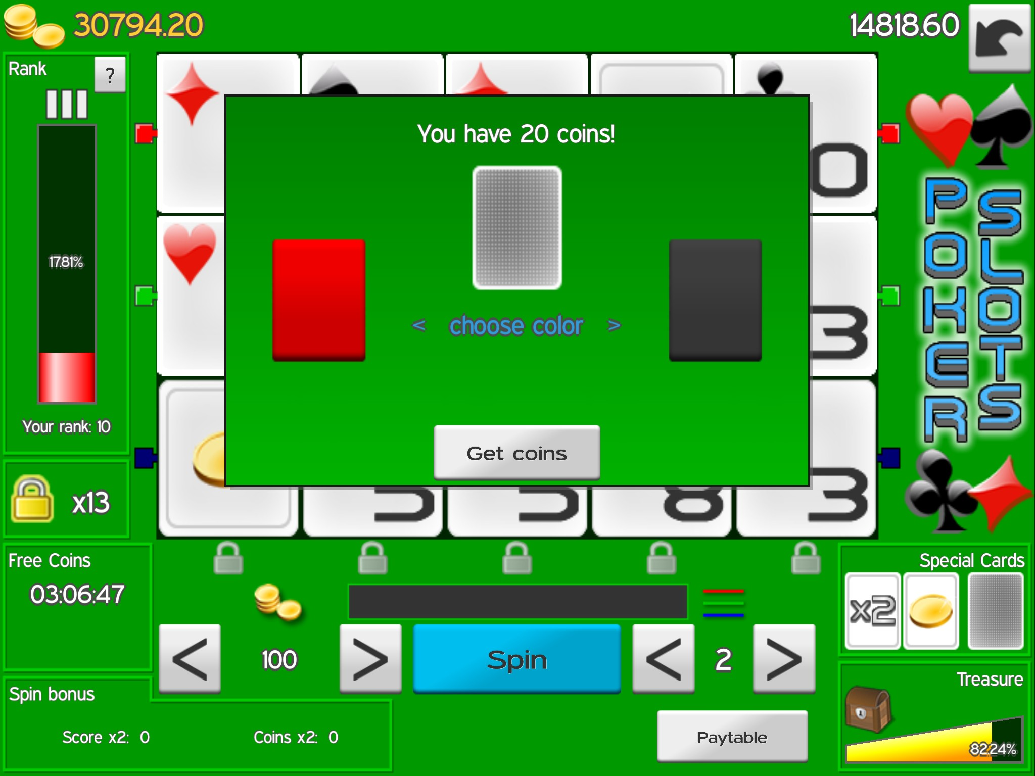 Free Slots.Com Poker