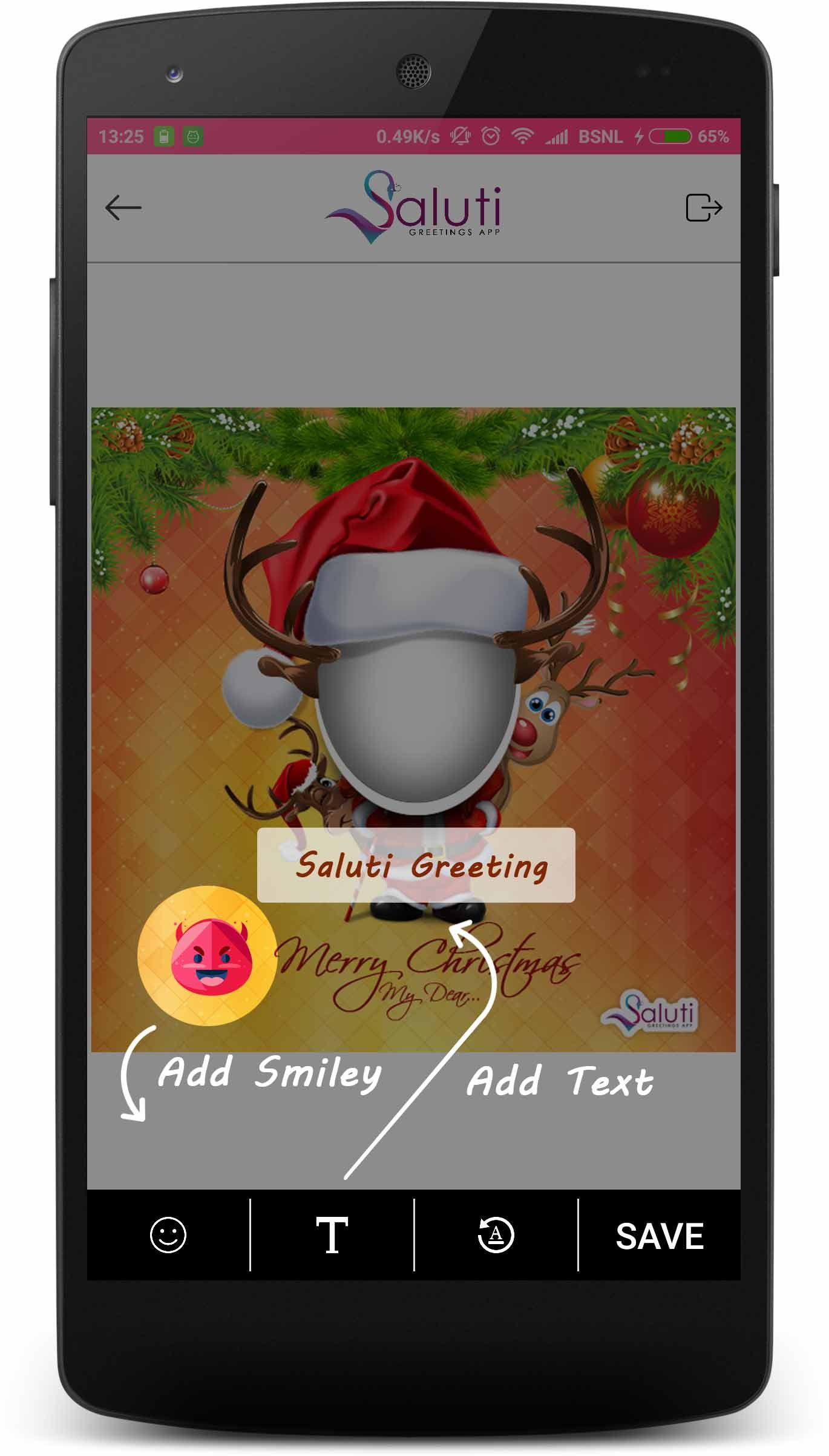 saluti greetings