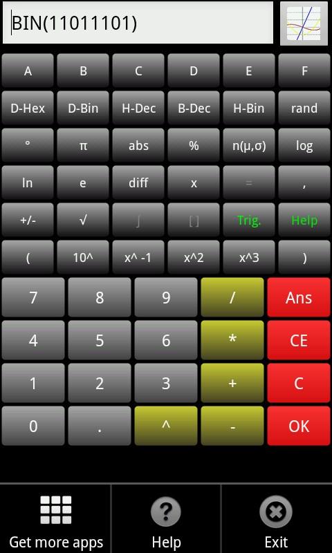 Scientific Calculator Dx
