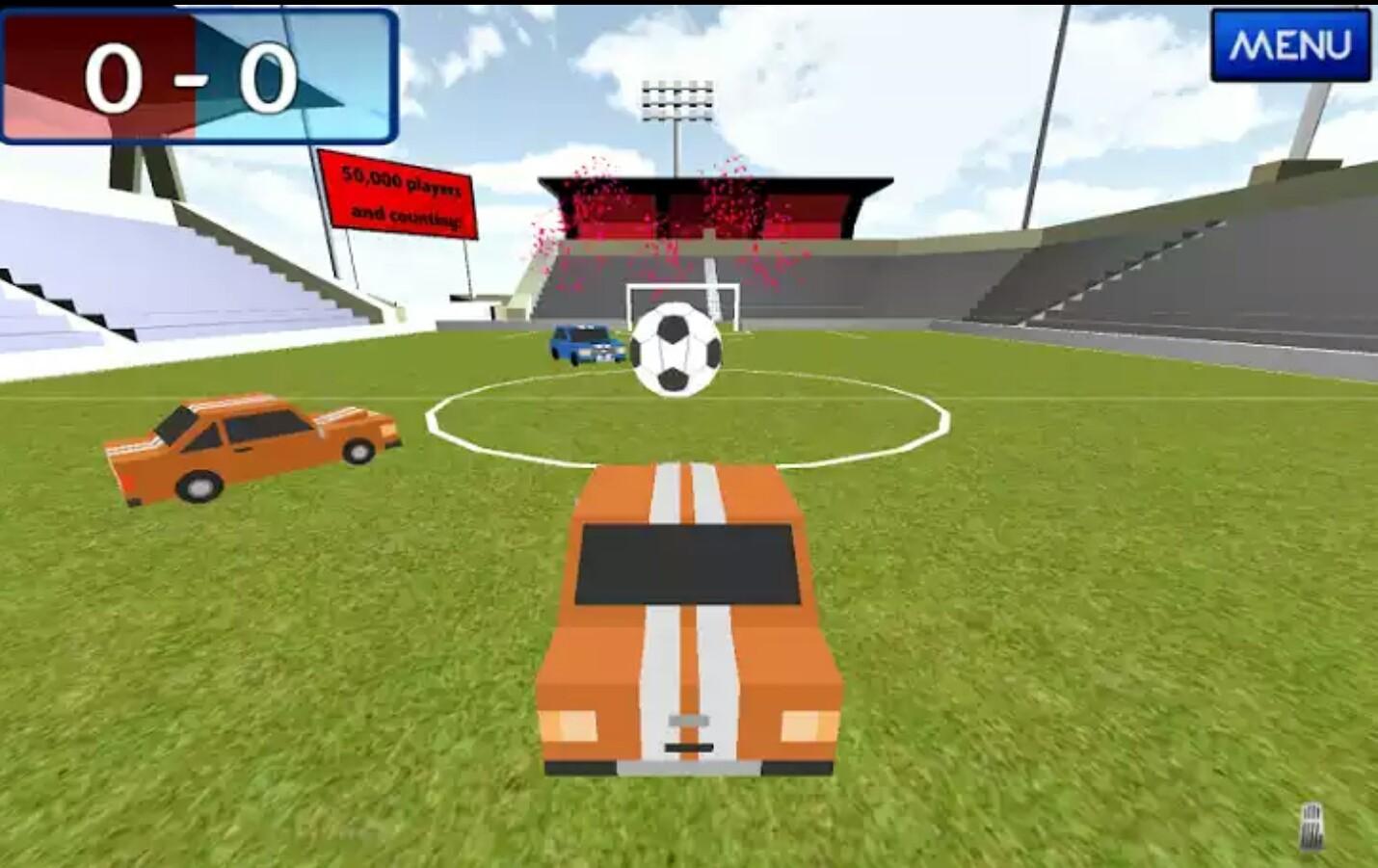 Super Cartoon Car Soccer