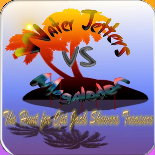 Water Jetter VS Megalodon
