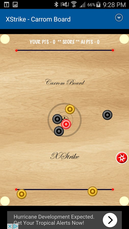 XStrike Carrom Board