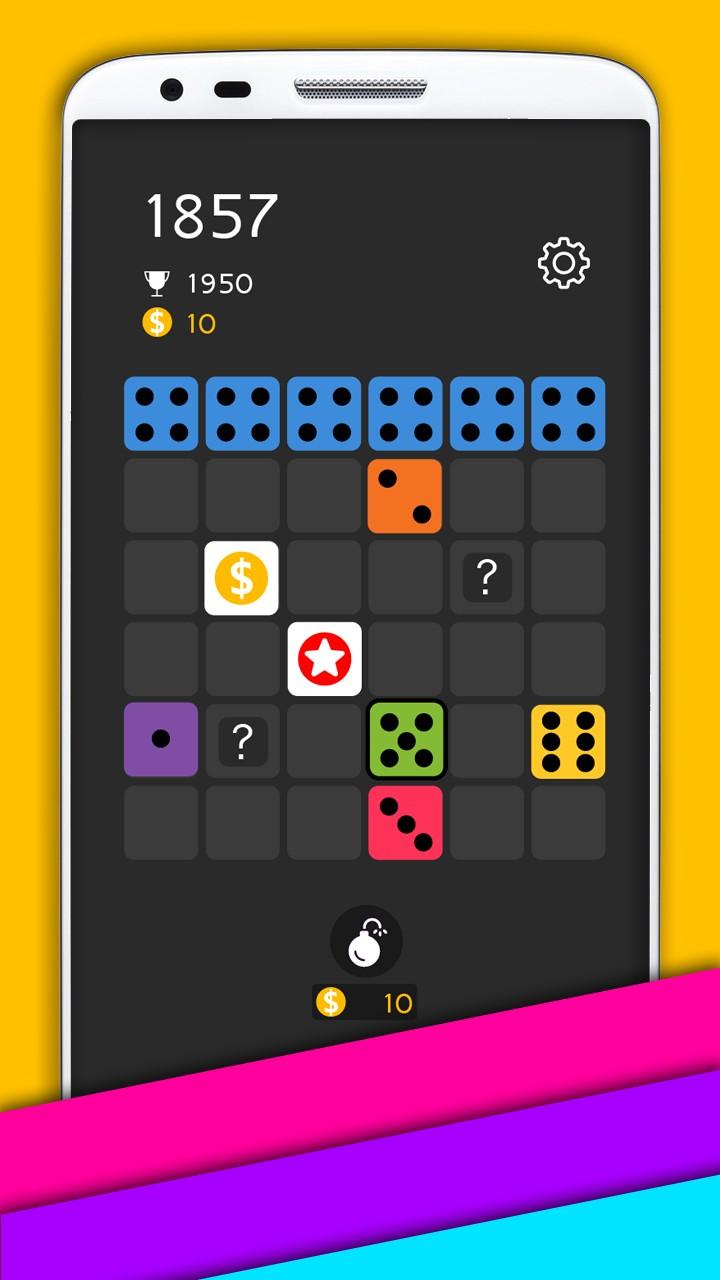Block puzzle domino