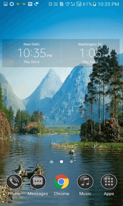 Blue Mountain Live Wallpaper