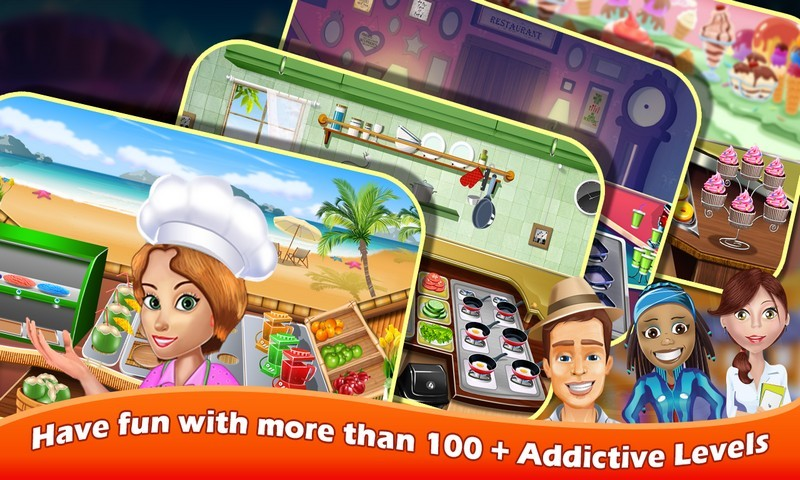 Cooking Mania Restaurant Game
