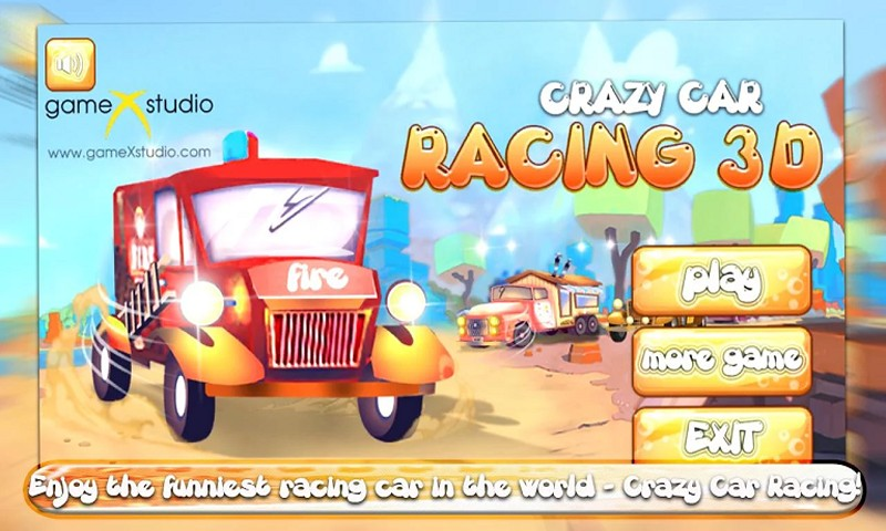 Crazy Car Racing 3D Onine