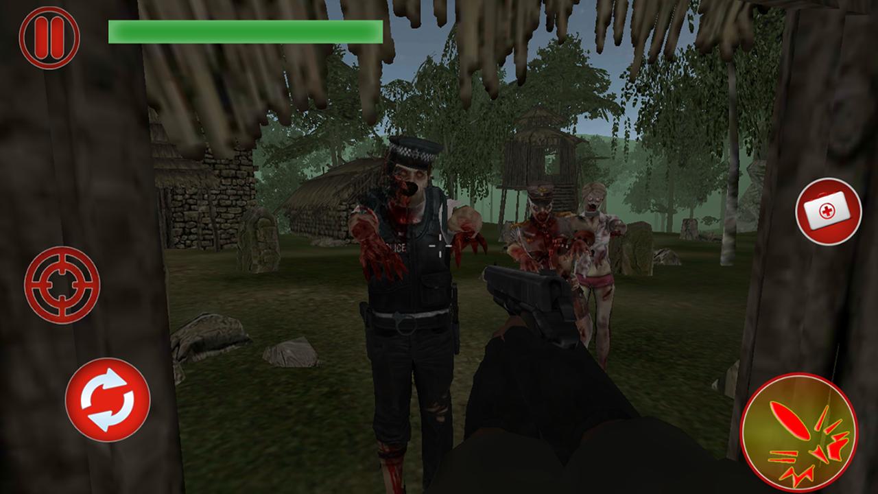 Dead Target Effect: Zombies