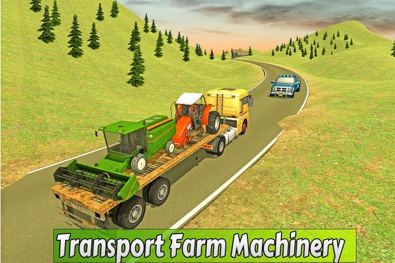 Farm Truck Driver 2017: Hay