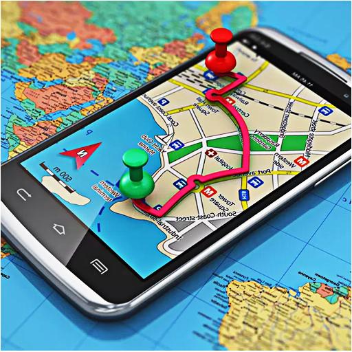 GPS Map Navigation & Direction