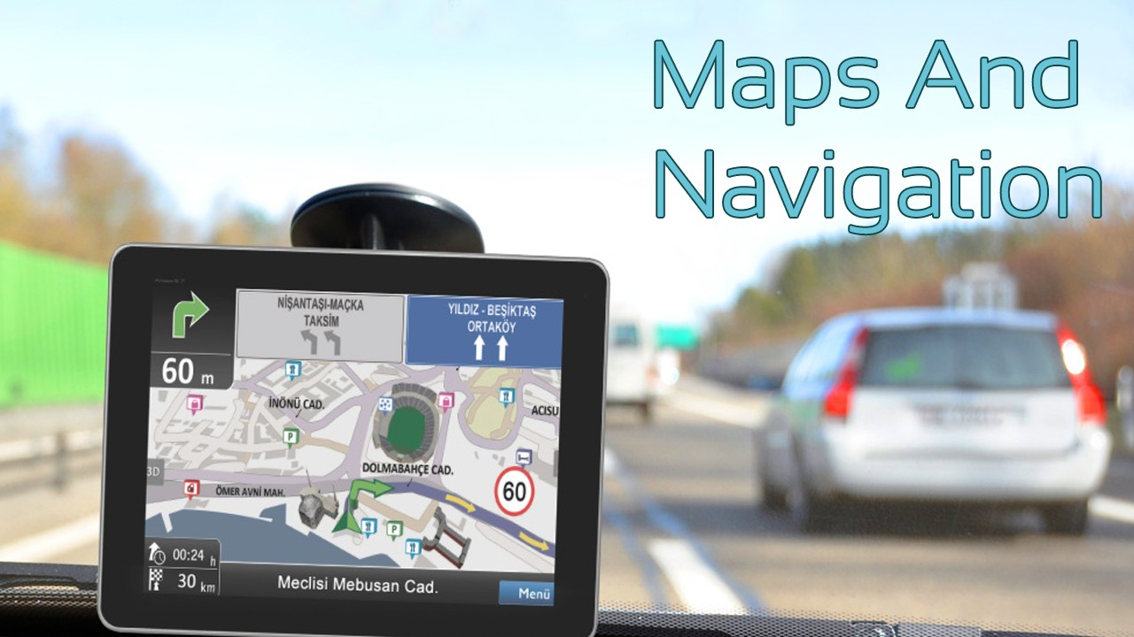 GPS Navigator and Maps Tracker